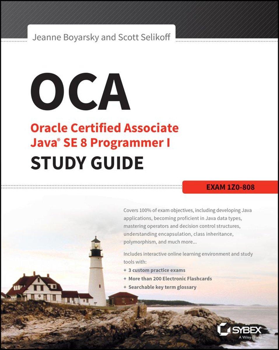 Bol Oca Oracle Certified Associate Java Se 8 Programmer I
