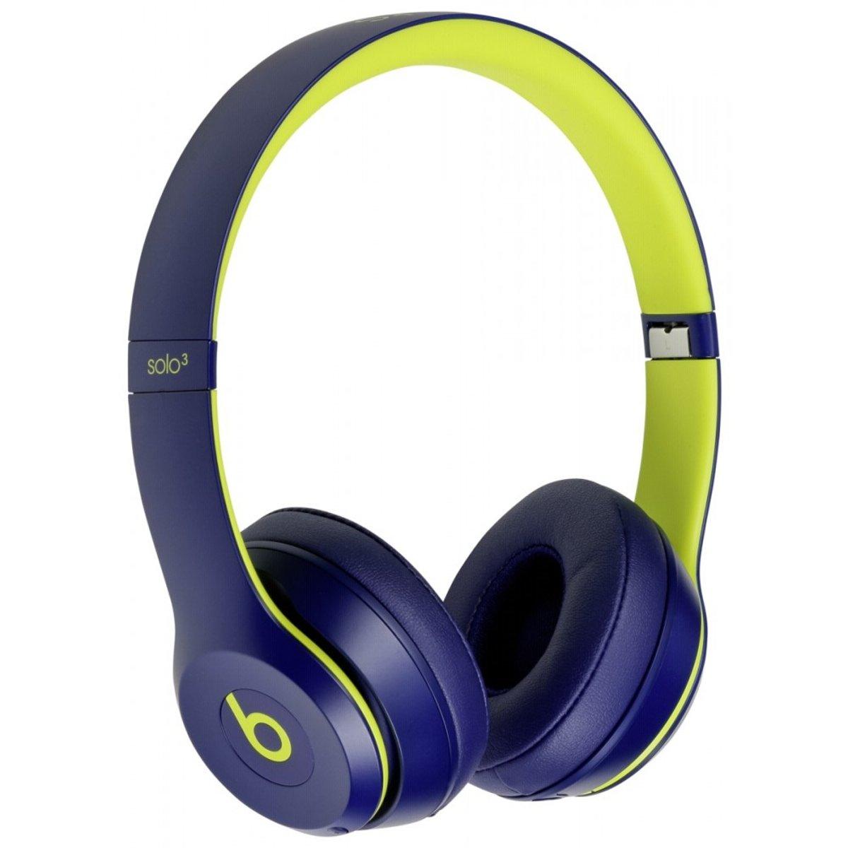 Apple Beats Solo3 mobiele hoofdtelefoon Stereofonisch Hoofdband Indigo, Limoen Bedraad en draadloos kopen
