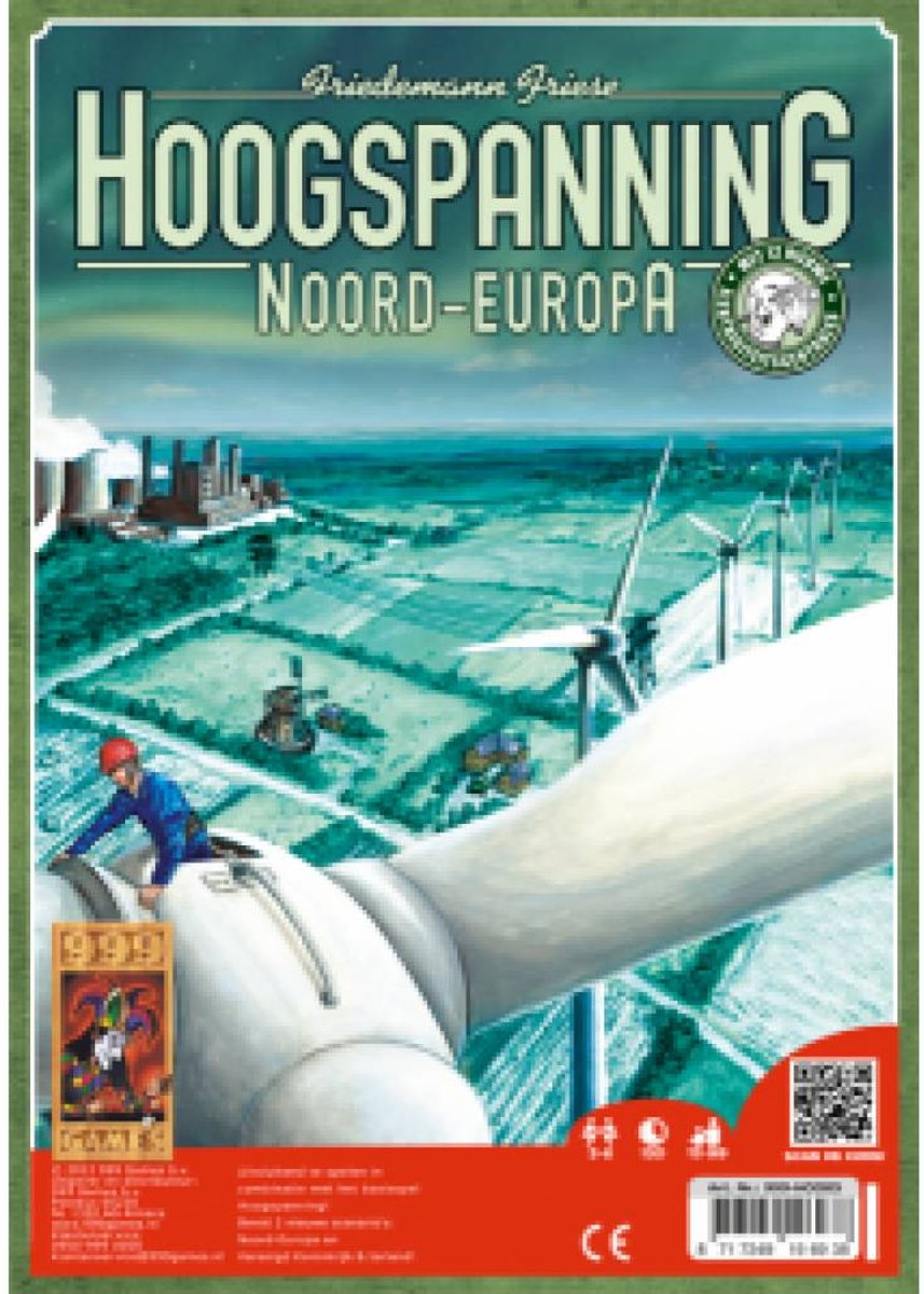 Hoogspanning: Noord Europa - Bordspel