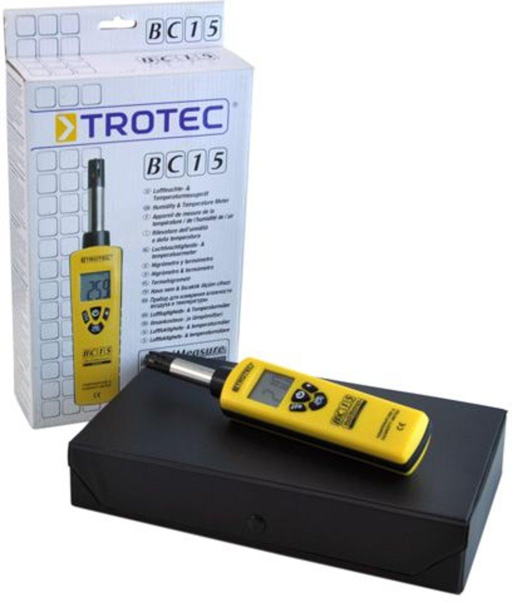 Trinatech BC 15 Thermo hygrometer kopen