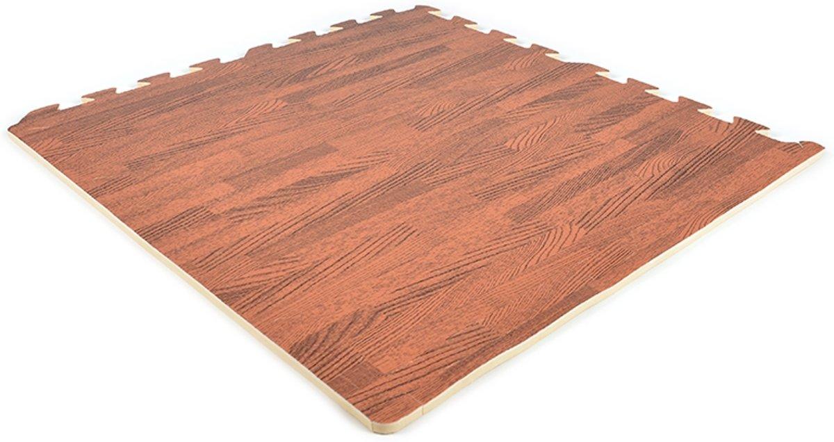 EVA FOAM tegels donkerhout 62x62x1,2cm (set van 20 tegels + randen) kopen