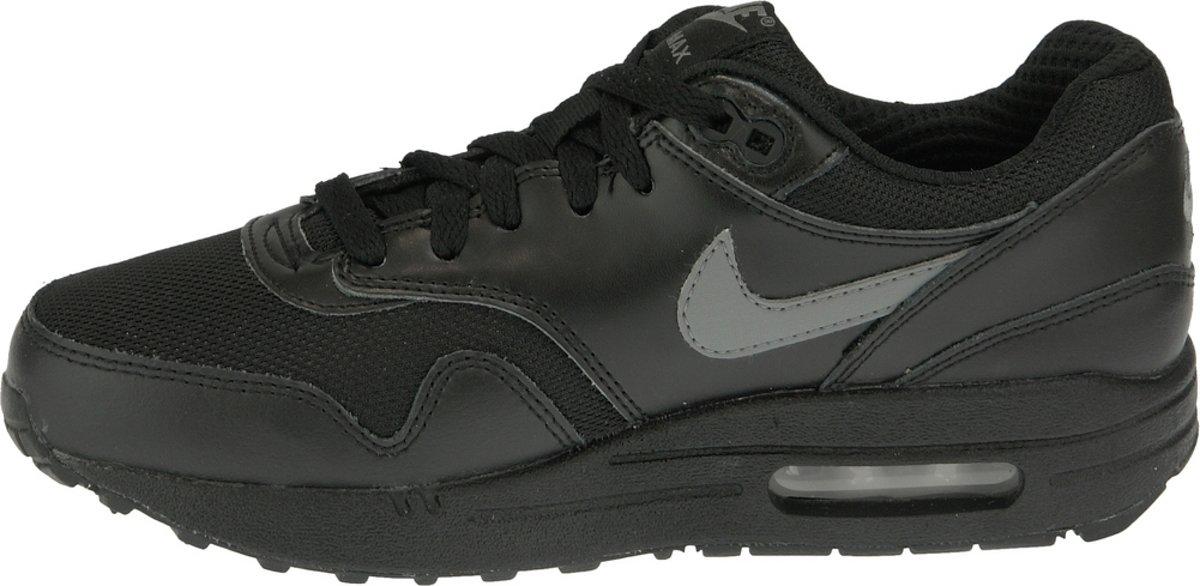  Nike Air Max 1 Gs 555766 043, Vrouwen, Zwart
