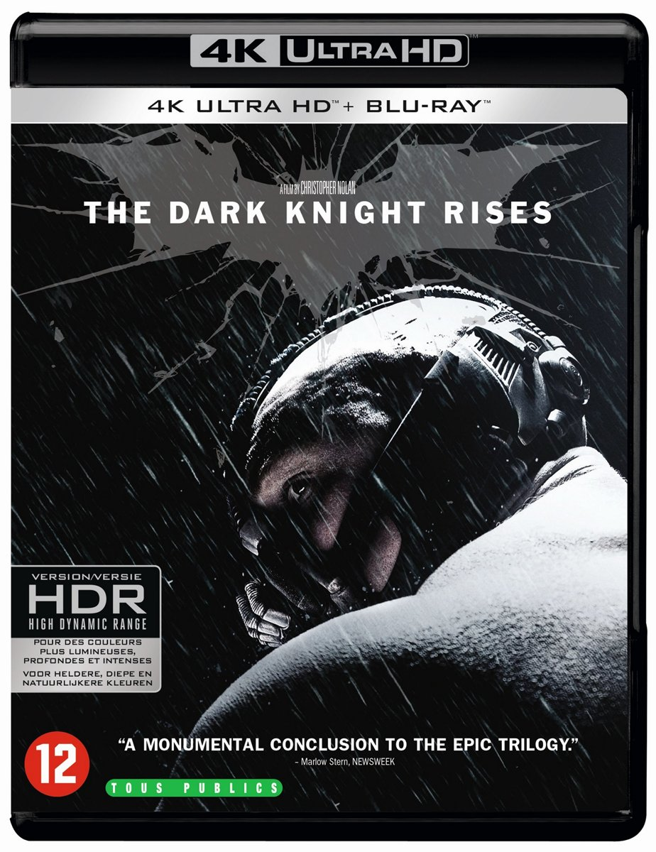 The Dark Knight Rises (4K Ultra HD Blu-ray)-