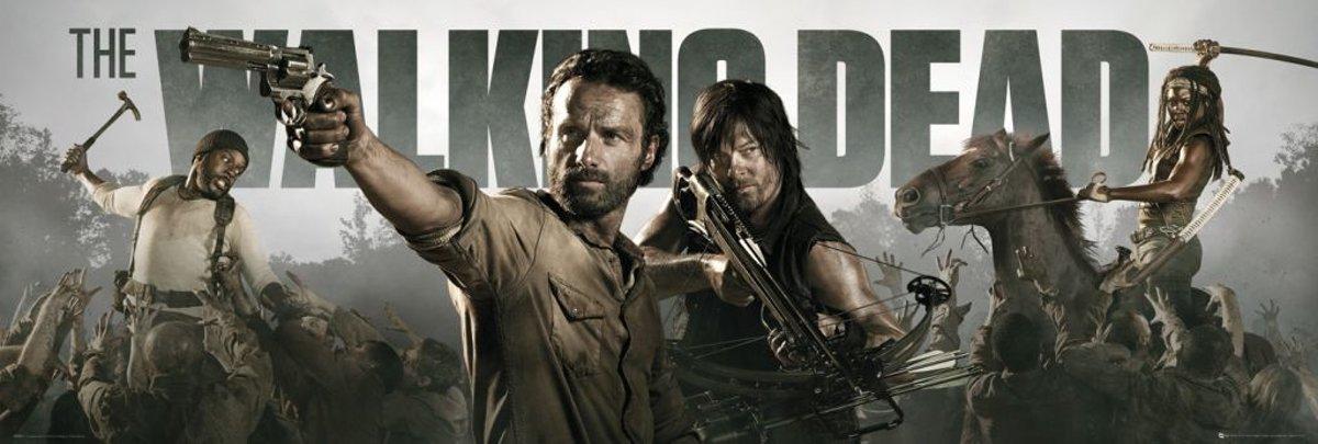 Reinders Poster The Walking Dead - banner - Poster - 158 × 53 cm - no. 24626 kopen