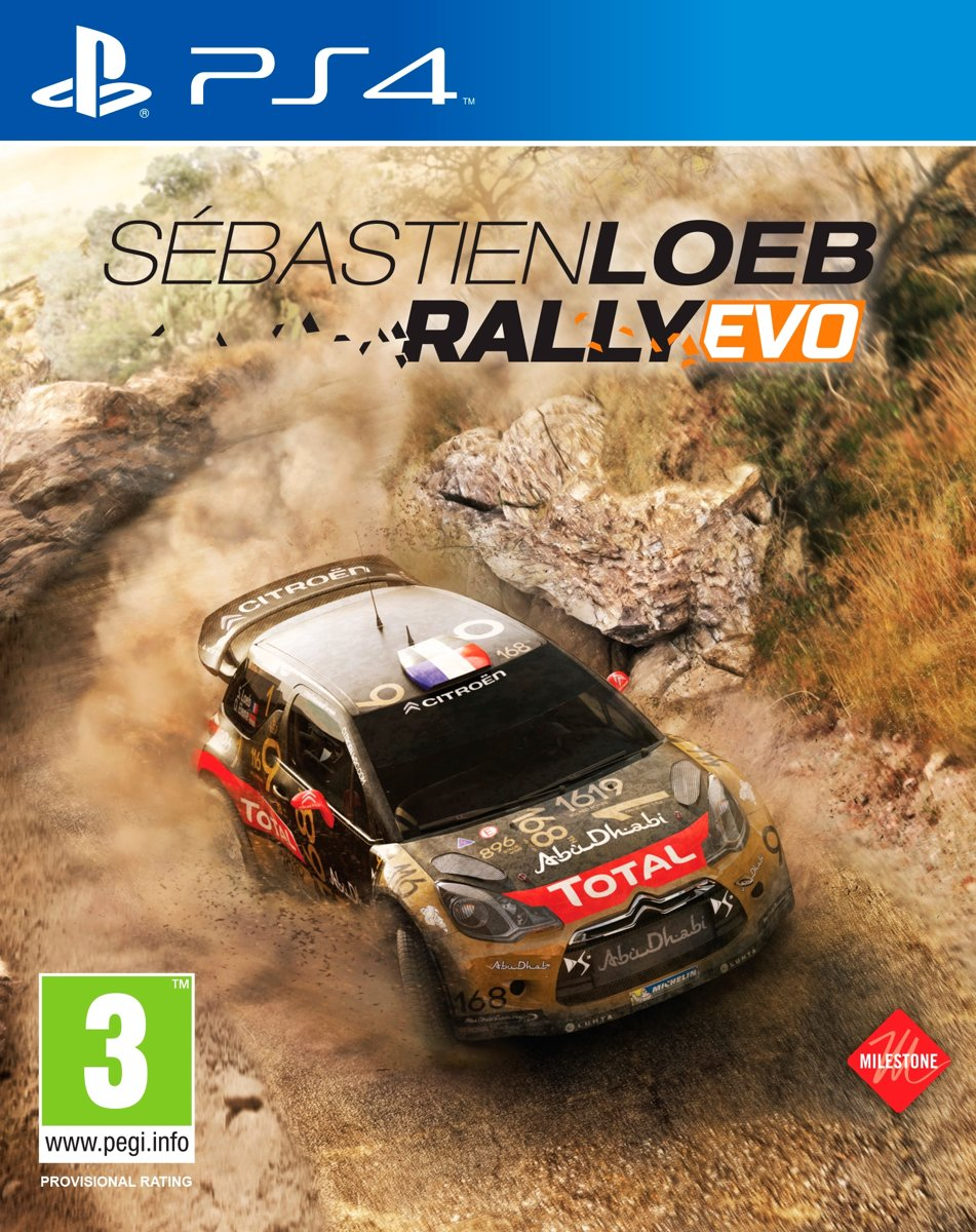 Sebastien Loeb Rally Evo PlayStation 4