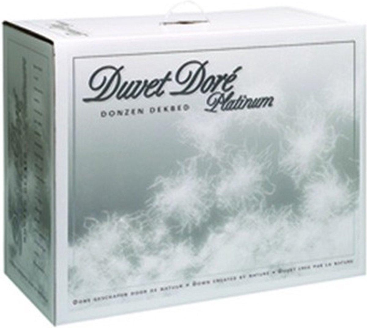 Duvet Doré Platinum 4-Seizoenen Donzen Dekbed - Lits-jumeaux - 240x220 cm - Wit kopen