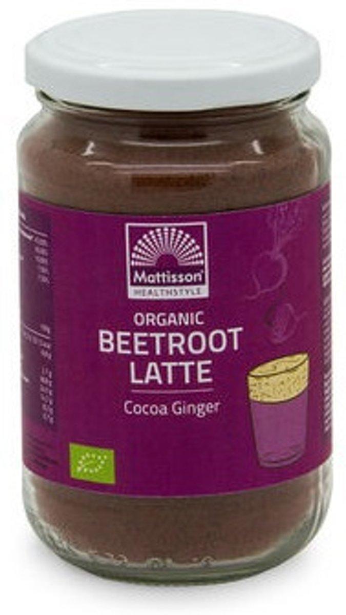Mattisson / Beetroot Latte Gember – Cacao BIO - 160 gram kopen