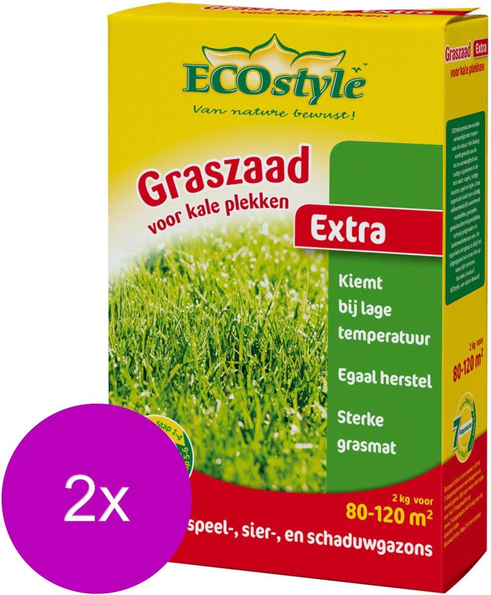Ecostyle Graszaad-Extra 120 m2 - Graszaden - 2 x 2 kg kopen