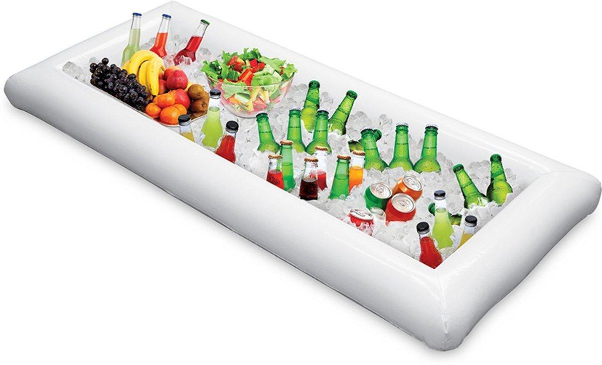 Opblaasbare bar - drank - salade - koeler - cooler - voor feestjes & pool party's met bier, wijn of andere dranken!
