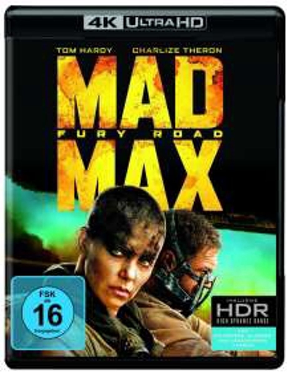 Mad Max - Fury Road (Ultra HD Blu-ray)-