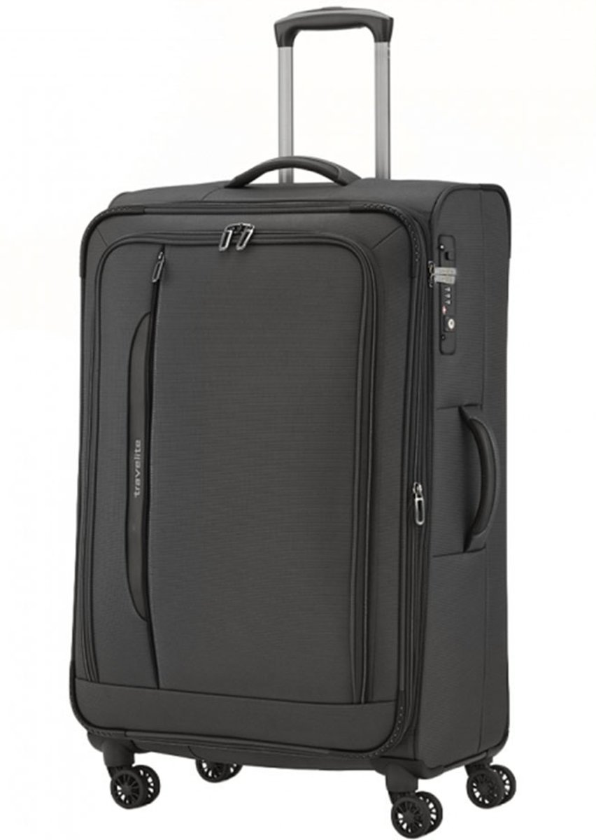 Travelite Crosslite koffer 77 cm zwart kopen