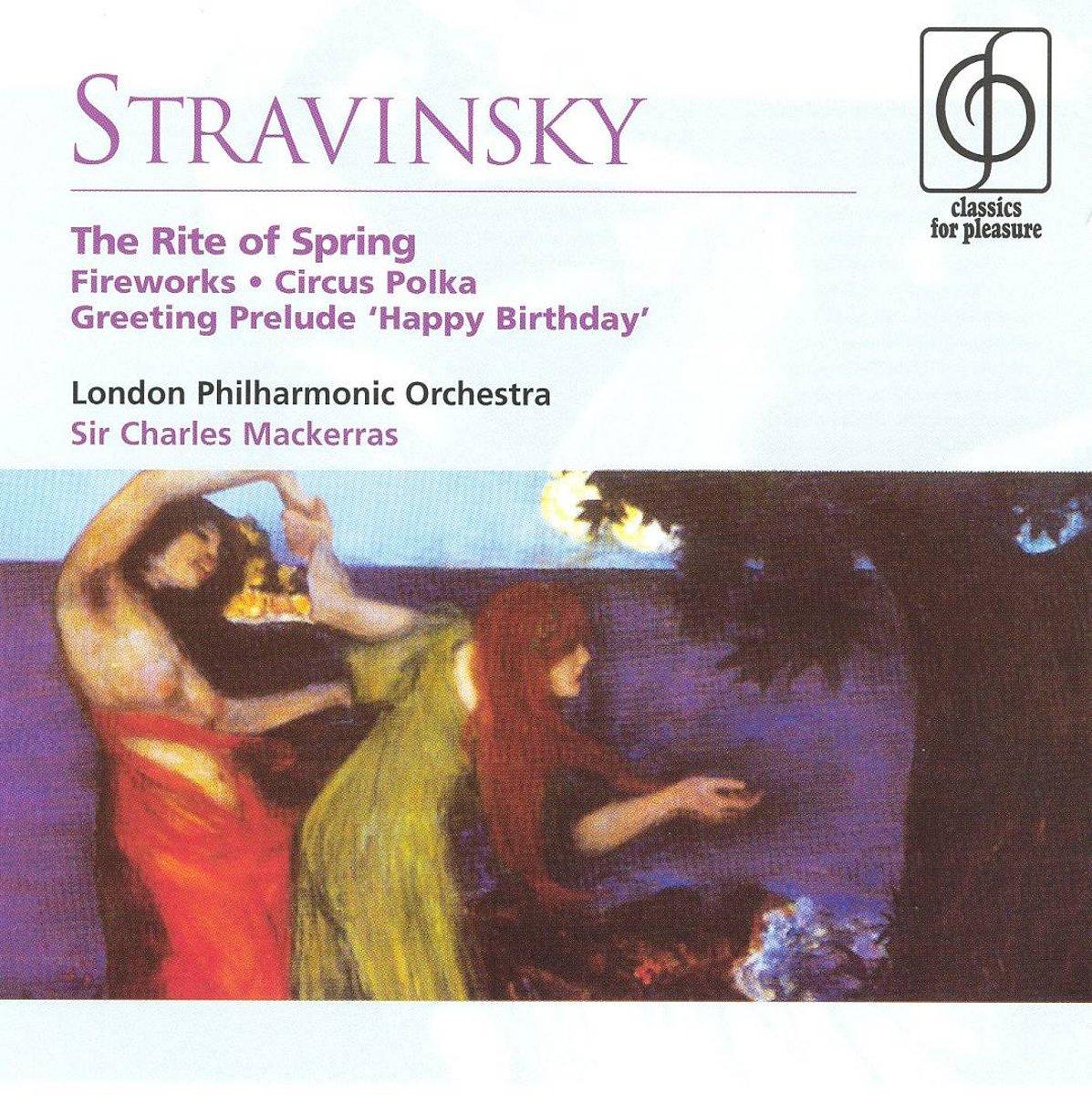 Bol Stravinsky The Rite Of Spring Fireworks Circus Polka