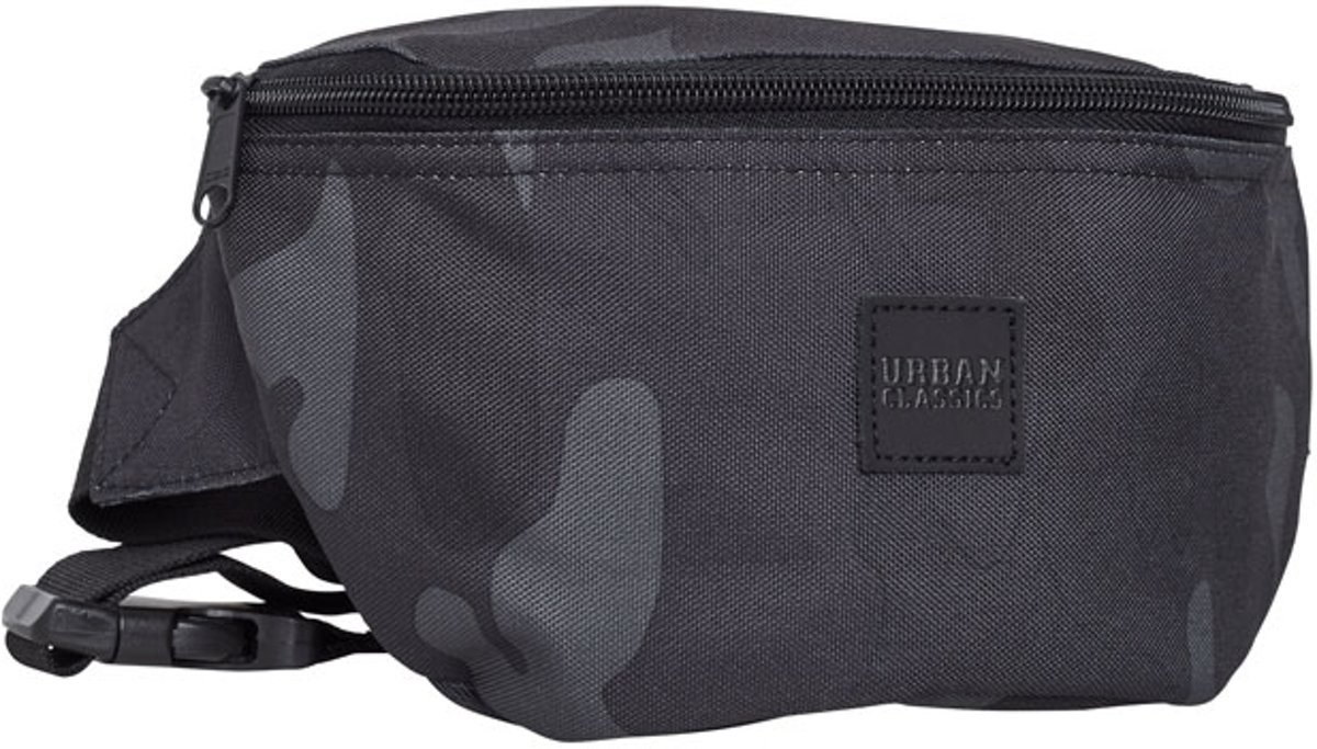 Urban Classics Hip Bag - Dark Camo kopen