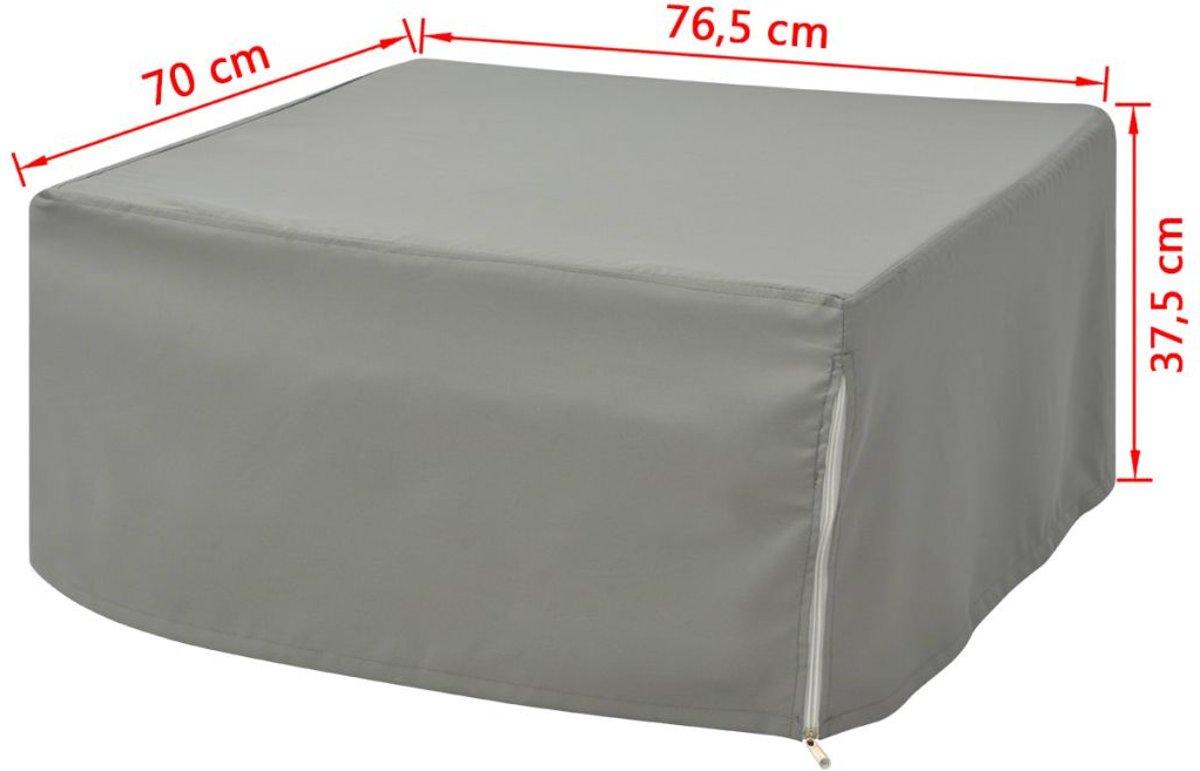 Bol.com vidaxl vouwbed stoel met matras staal 200 x 70 cm