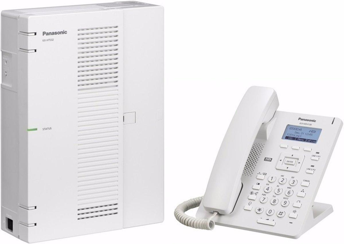 PANASONIC KX-HTS32 professionele TELEFOONCENTRALE voor 6 IP LIJNEN of max 8 ANALOGE LIJNEN en max 24 TOESTELLEN kopen