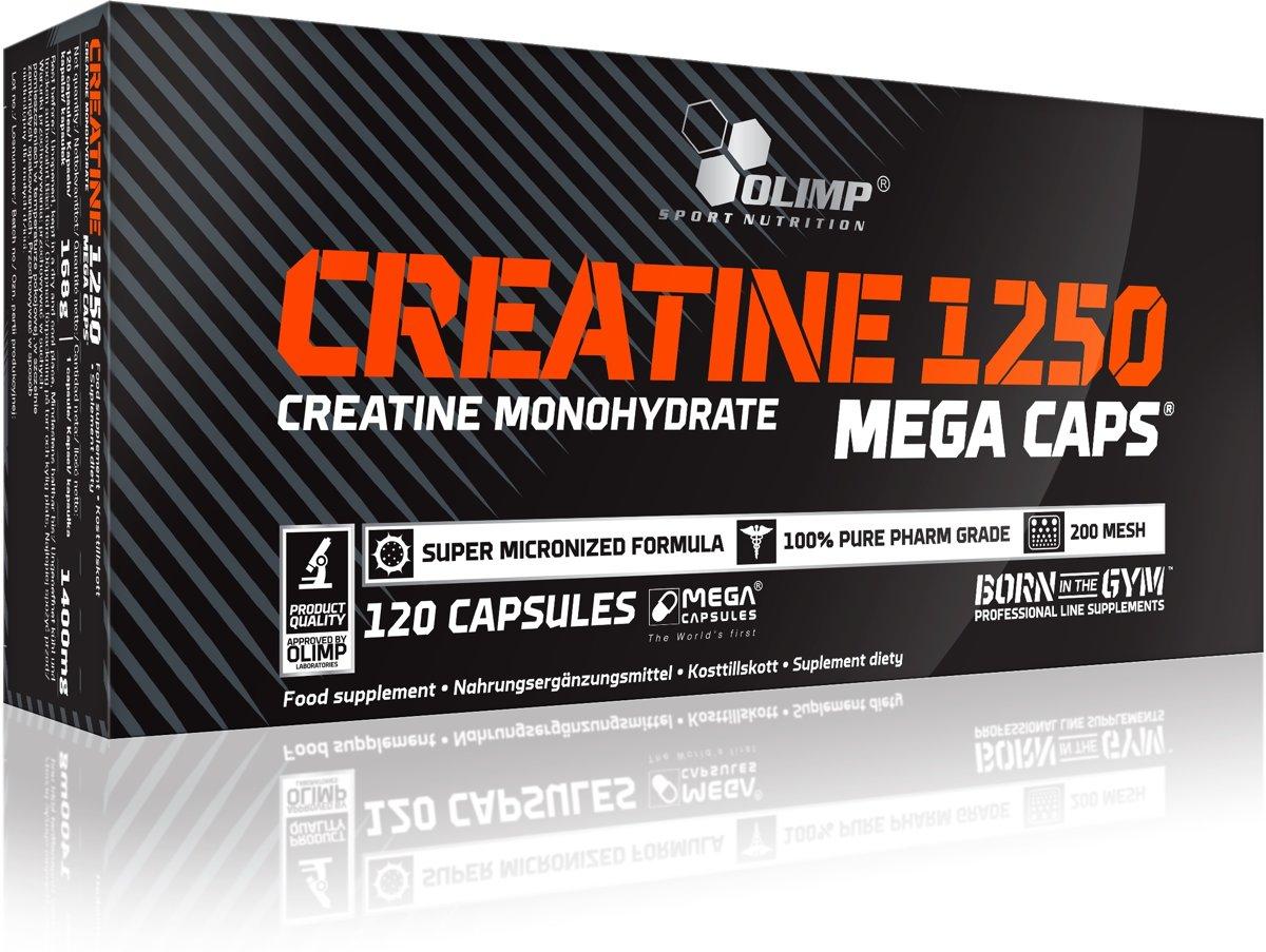 Olimp Supplements Creatine Mega Caps 1250 - 120 capsules kopen