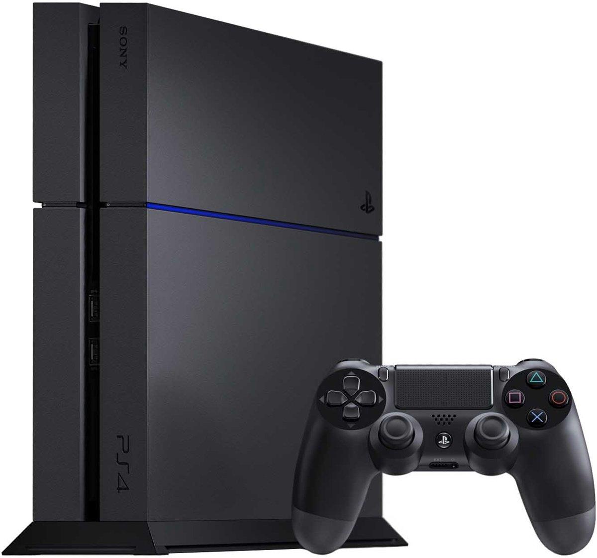 Bolcom Sony Playstation 4 Console 500gb Zwart Games