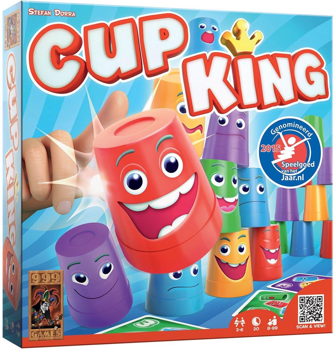 999 games Cup King, spel met de stapeltoren