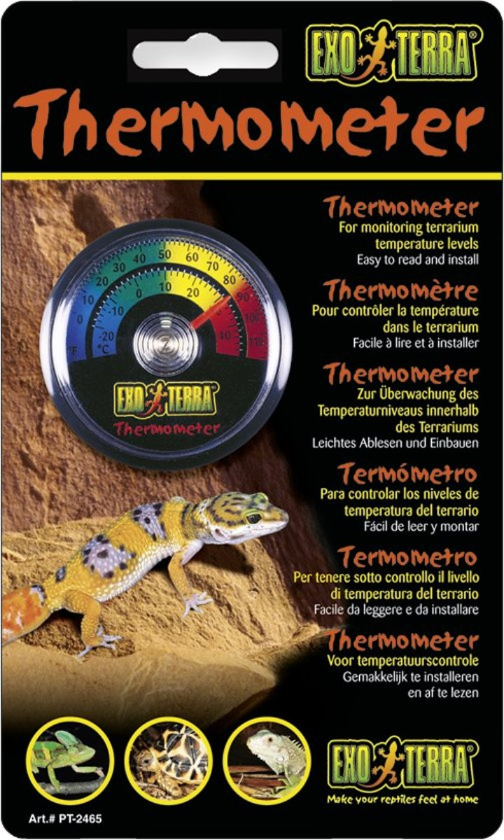 Exo Terra ANALOGE THERMOMETER REPT-O-METER 10,5X2X18CM