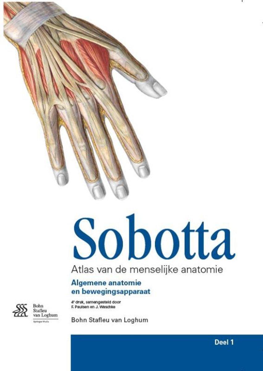 bol.com | Sobotta / 1 Algemene anatomie en bewegingsapparaat ...