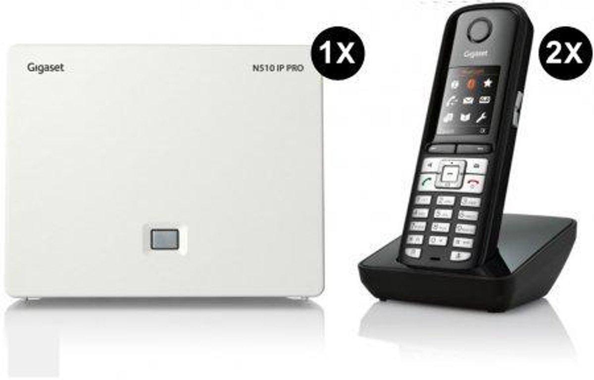 Bundel: Gigaset N510 (1x) met S650H PRO (2x) kopen