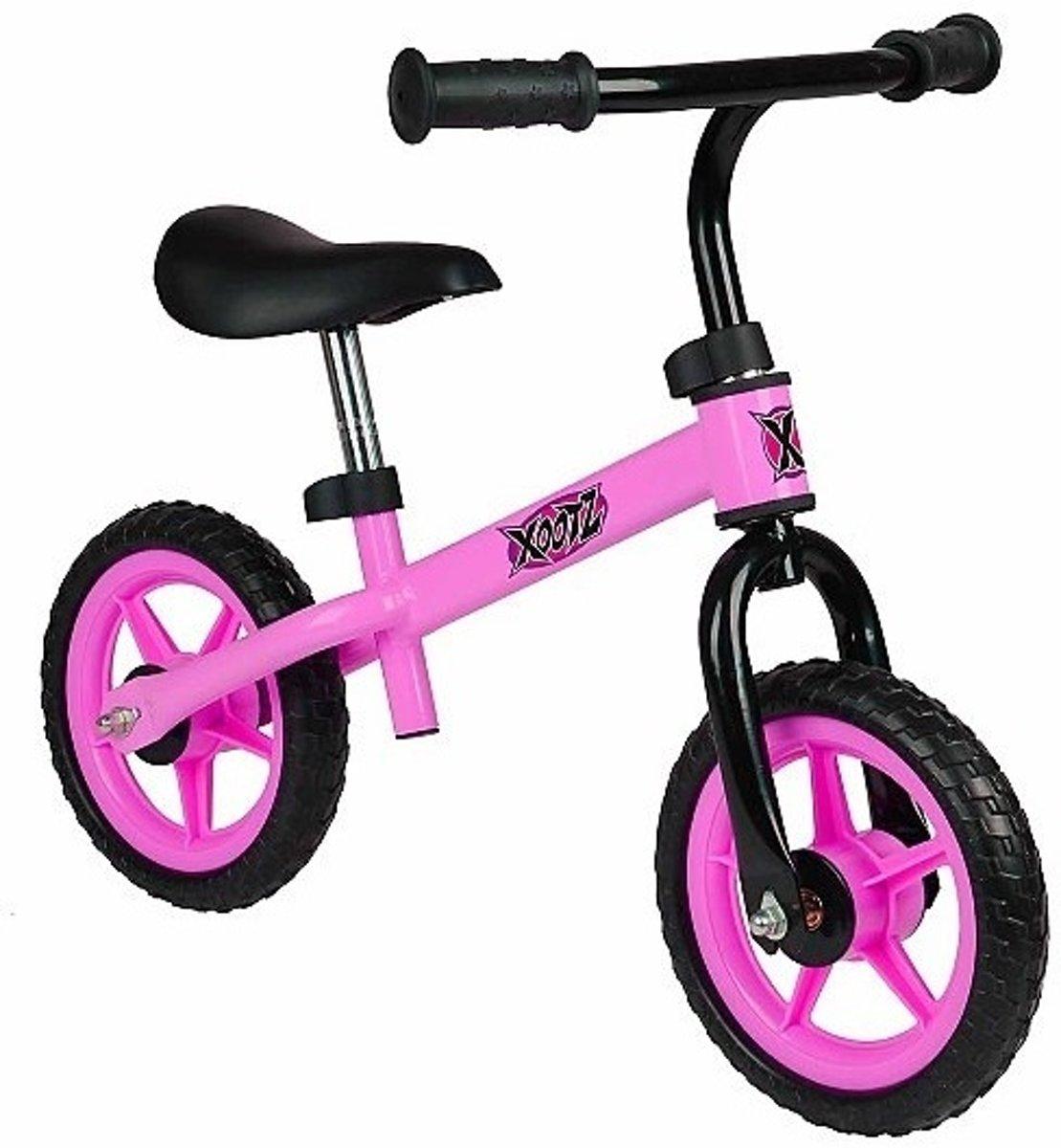 Xootz Balance - Loopfiets - Meisjes - Roze - 10 Inch kopen