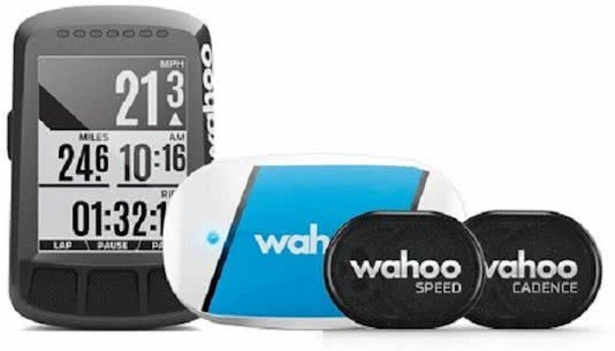 Wahoo Elemnt Bolt GPS fietscomputer bundel - met sensoren kopen