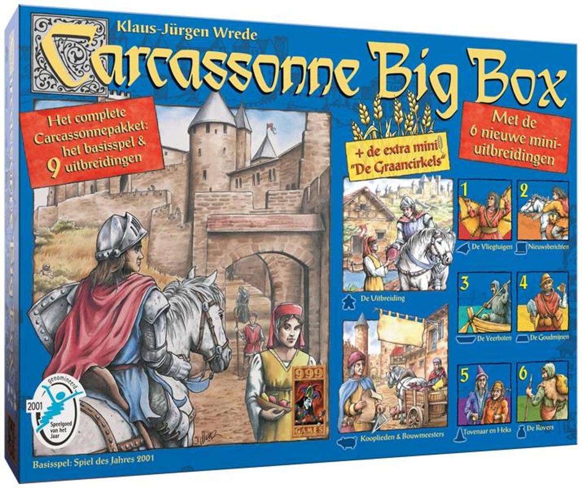 Carcassonne Bigbox
