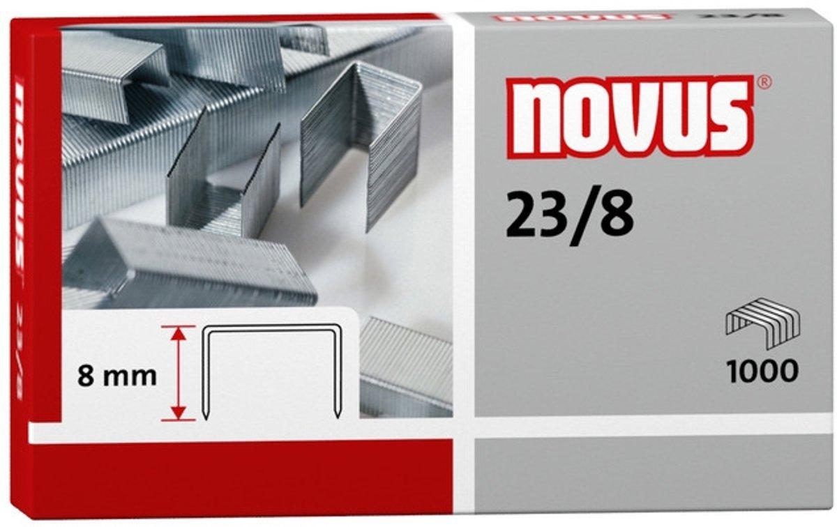 nietjes Novus 23/8 doos à 1000 stuks kopen