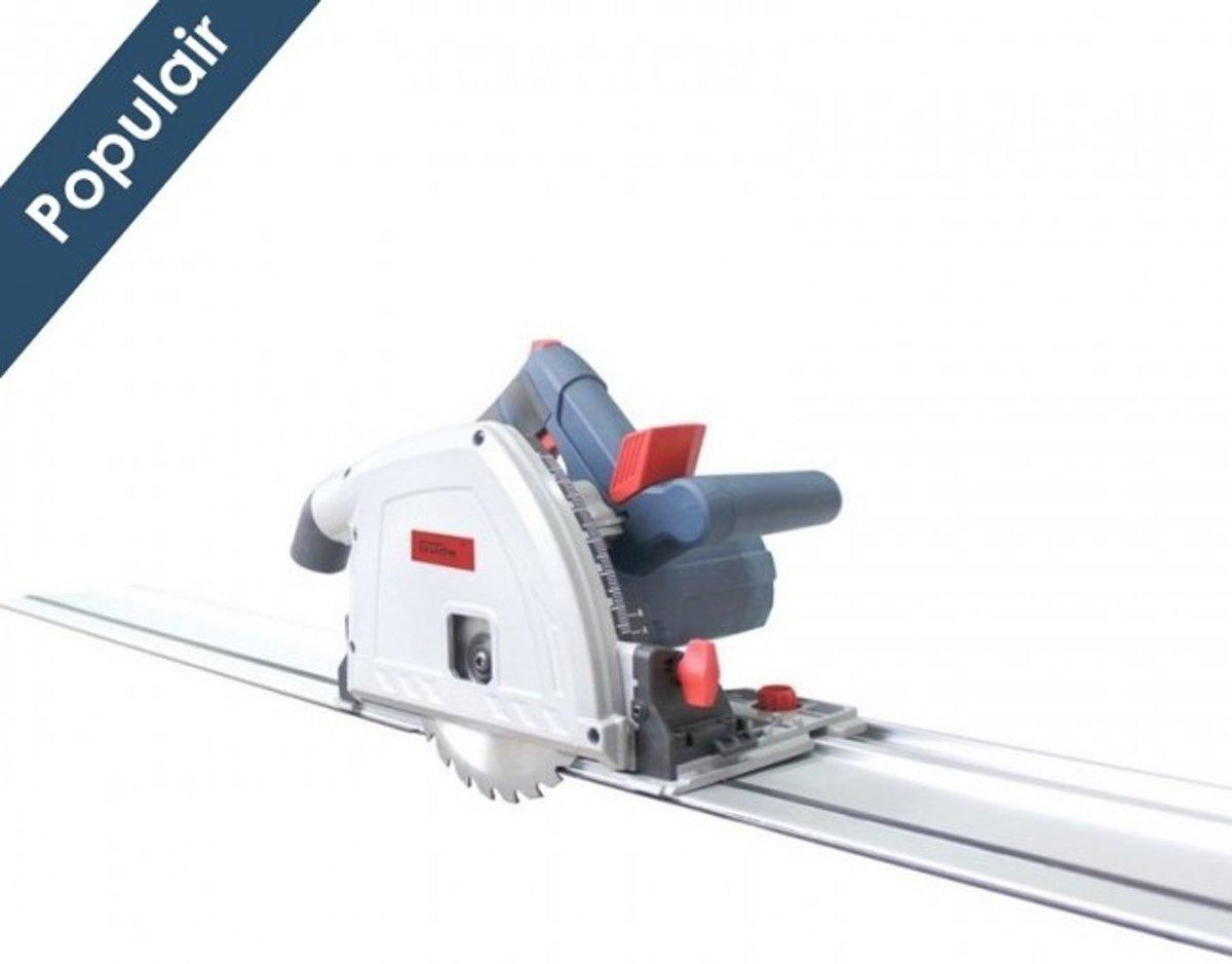 Güde TS 57-1400 KE SET Invalzaag + rail