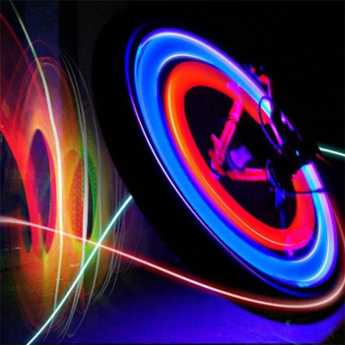 multi spaak licht led fietswiel kinderen spaakverlichting fietswielverlichting