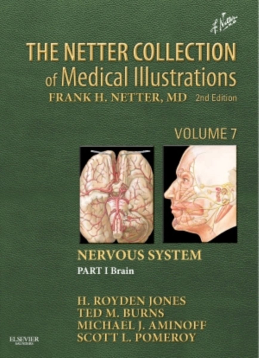 bol.com | The Netter Collection of Medical Illustrations: Nervous ...