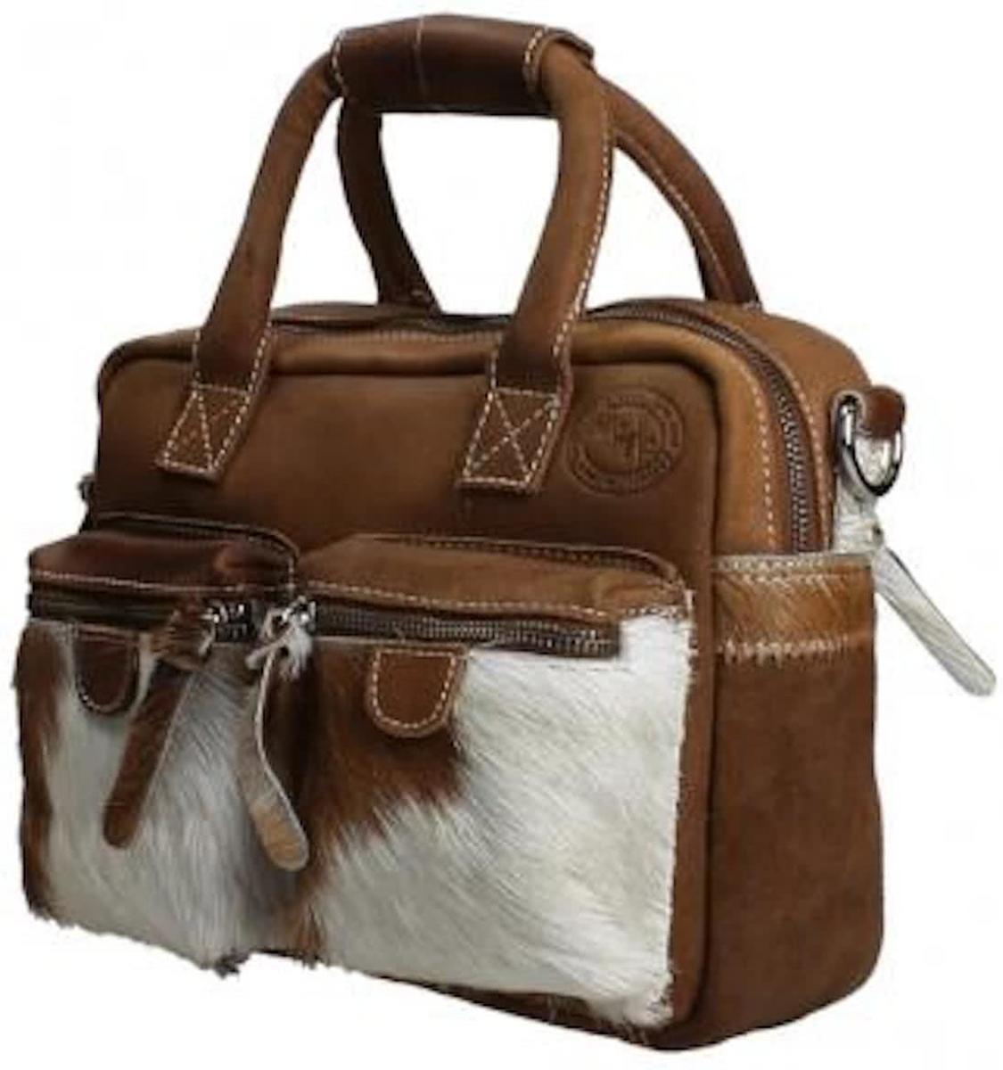Westernbag MicMacbags Arizona dierenhuidprint Cognac 10