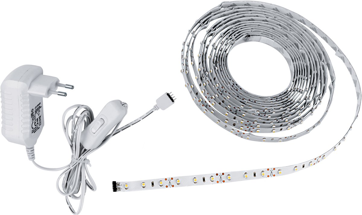 EGLO Ledstips - Basis - 5m. - Wit licht kopen