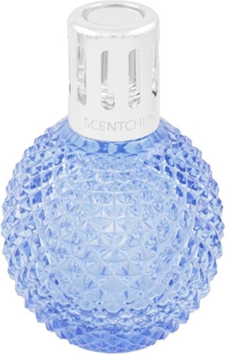 ScentOil Lamp glas Bol Blue Actie Prijs kopen