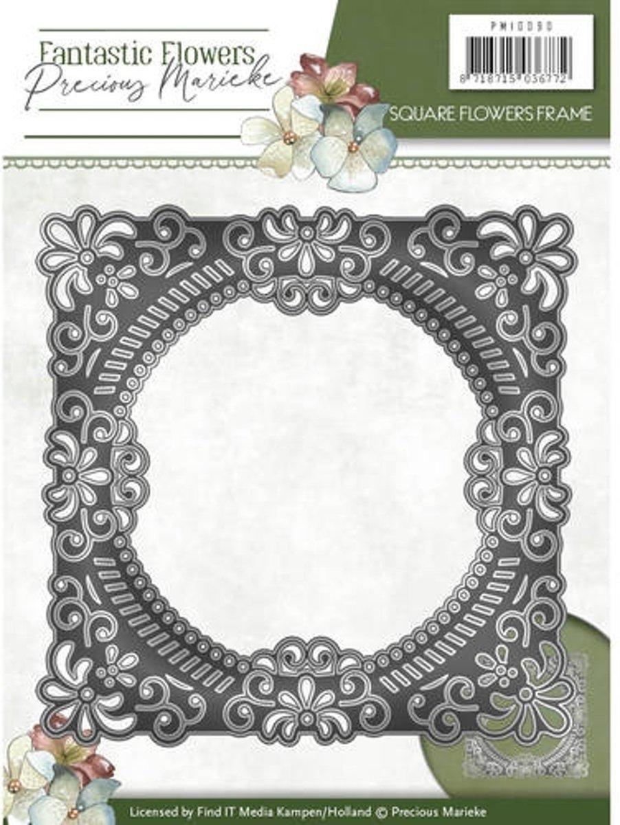 Mal - Precious Marieke - Fantastic Flowers - Vierkante Bloemen Omlijsting kopen