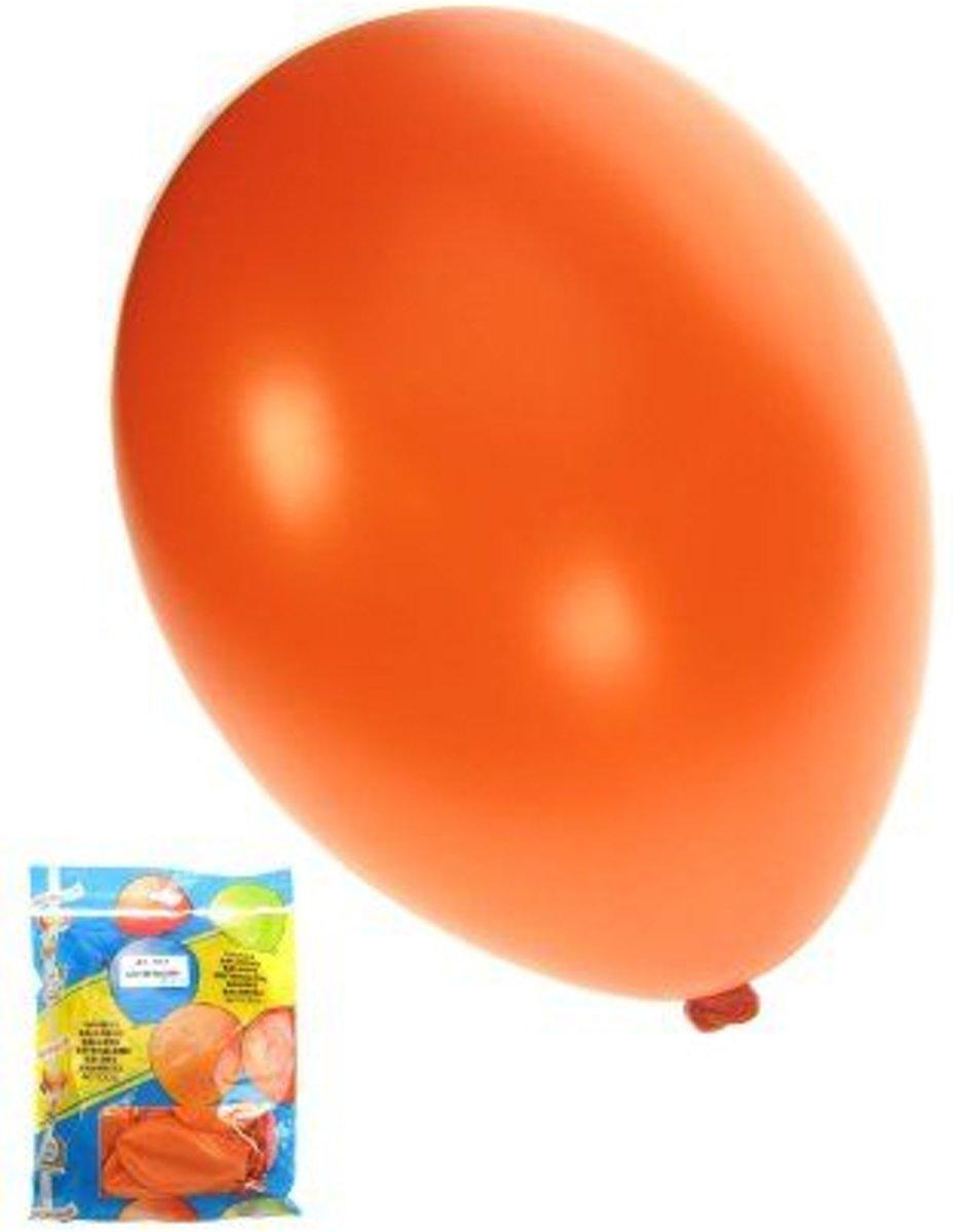 Kwaliteitsballon - 50 st - Metallic Oranje kopen