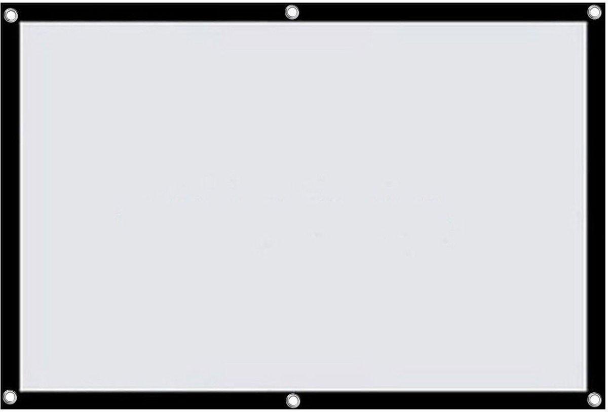 LA VAGUE STA Screen 16/9 100 - Projetiescherm - Zwart Wit kopen