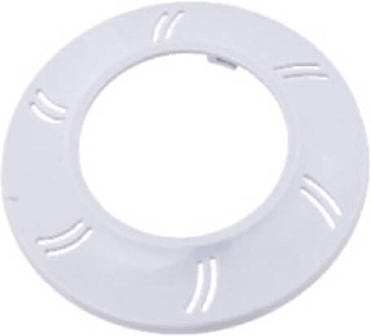 Witte front ring voor afdekking LED lamp