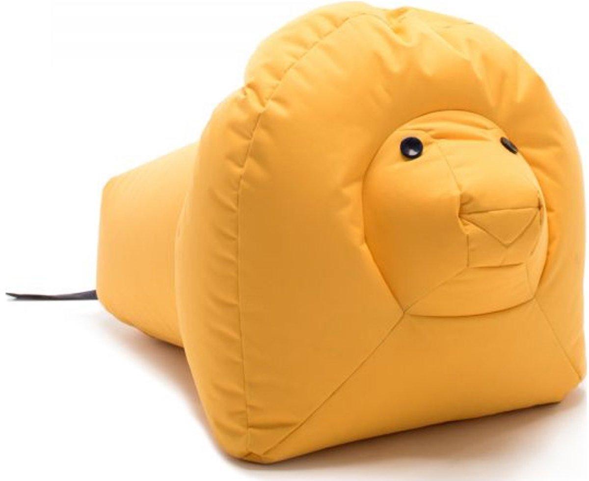 Sitting Bull Happy Zoo zitzak Nora de Leeuw geel kopen