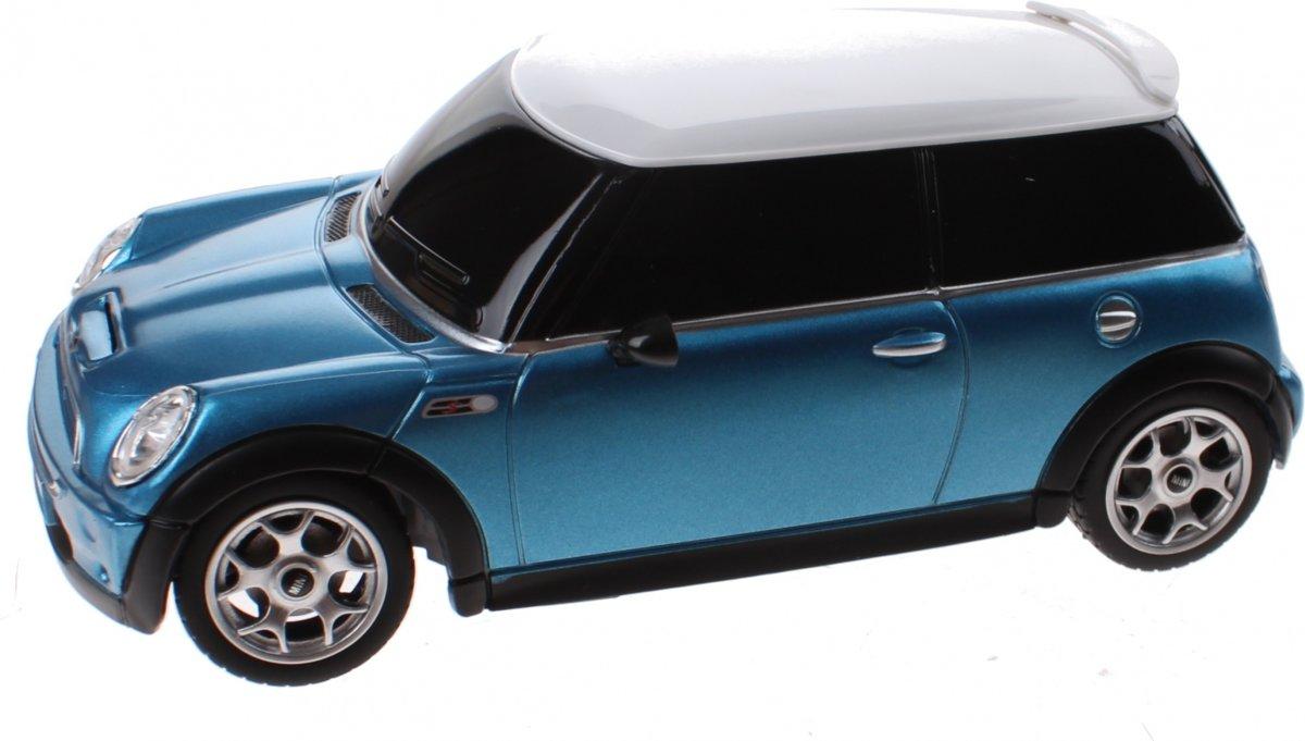Rastar Rc Mini Cooper S 14 Cm Schaal 1:24 Blauw kopen