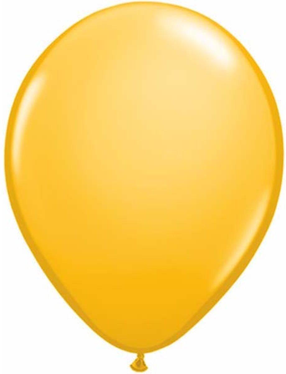 Qualatex ballonnen 100 stuks Goldenrod kopen