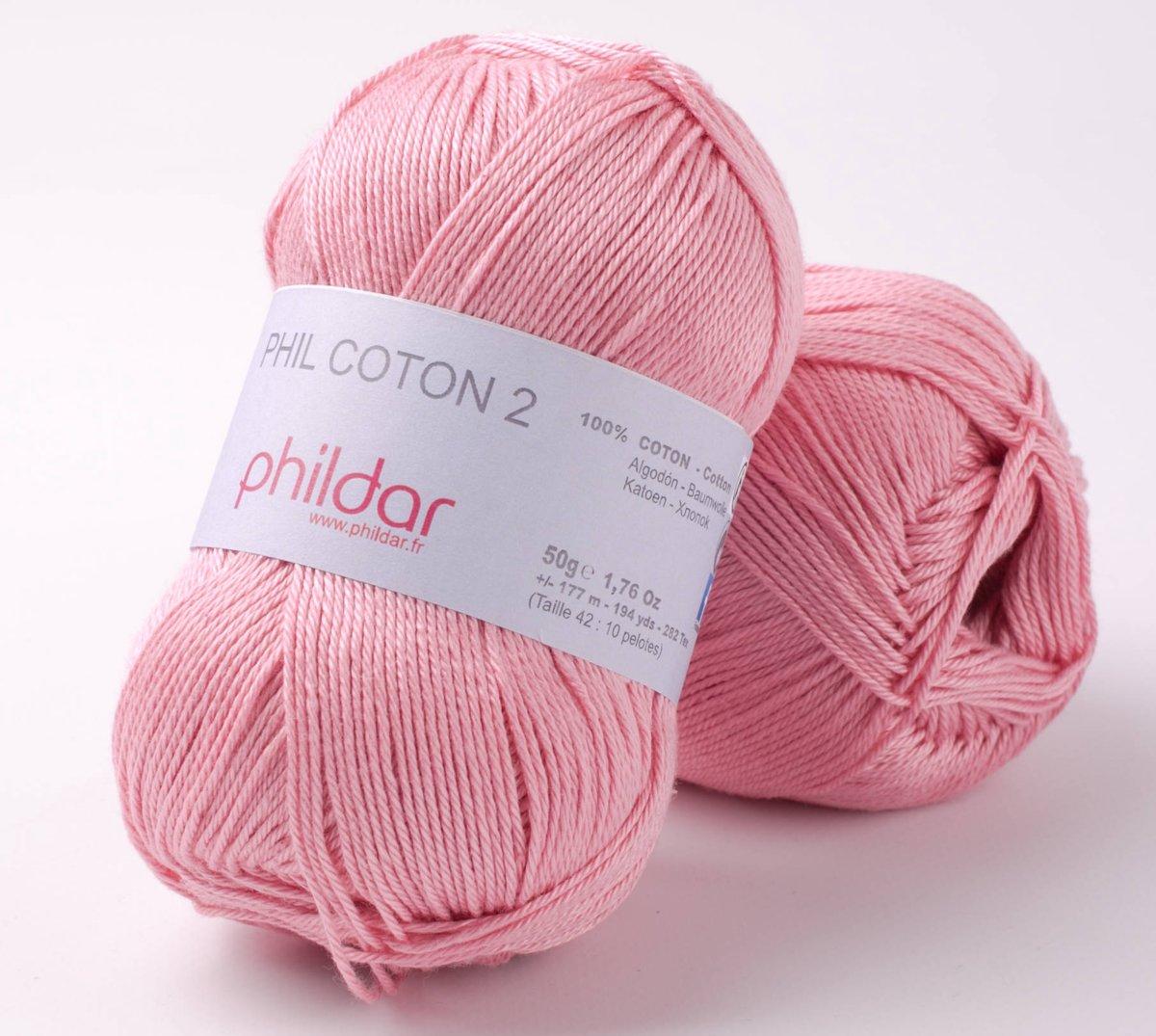 Phildar Phil Coton 2  meringue 10 x 50 gram kopen