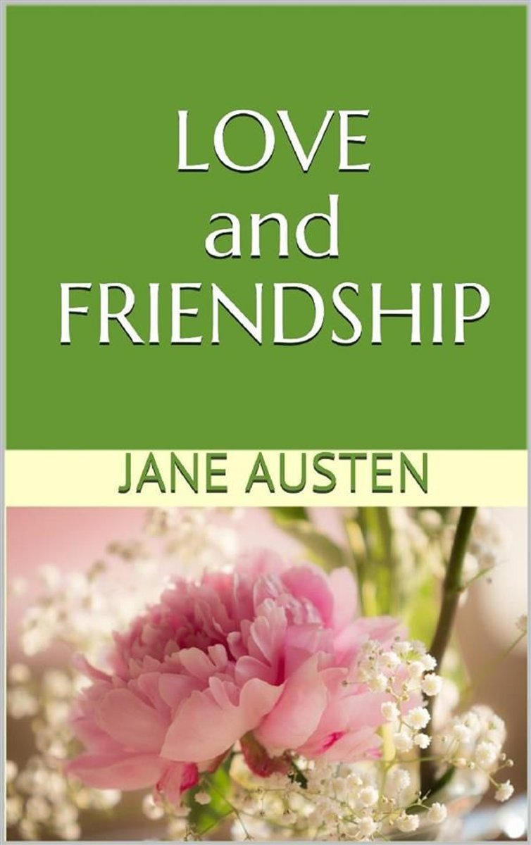 Bolcom Love And Friendship Ebook Jane Austen 9788827801598
