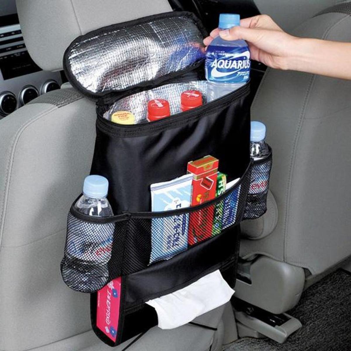Auto Stoel Organiser / Car Organiser - Opbergvakken voor achterkant stoel – Auto opbergzak – Autostoel zak – Auto koelbox - Autostoelhoes- opberg zak kinderen kopen