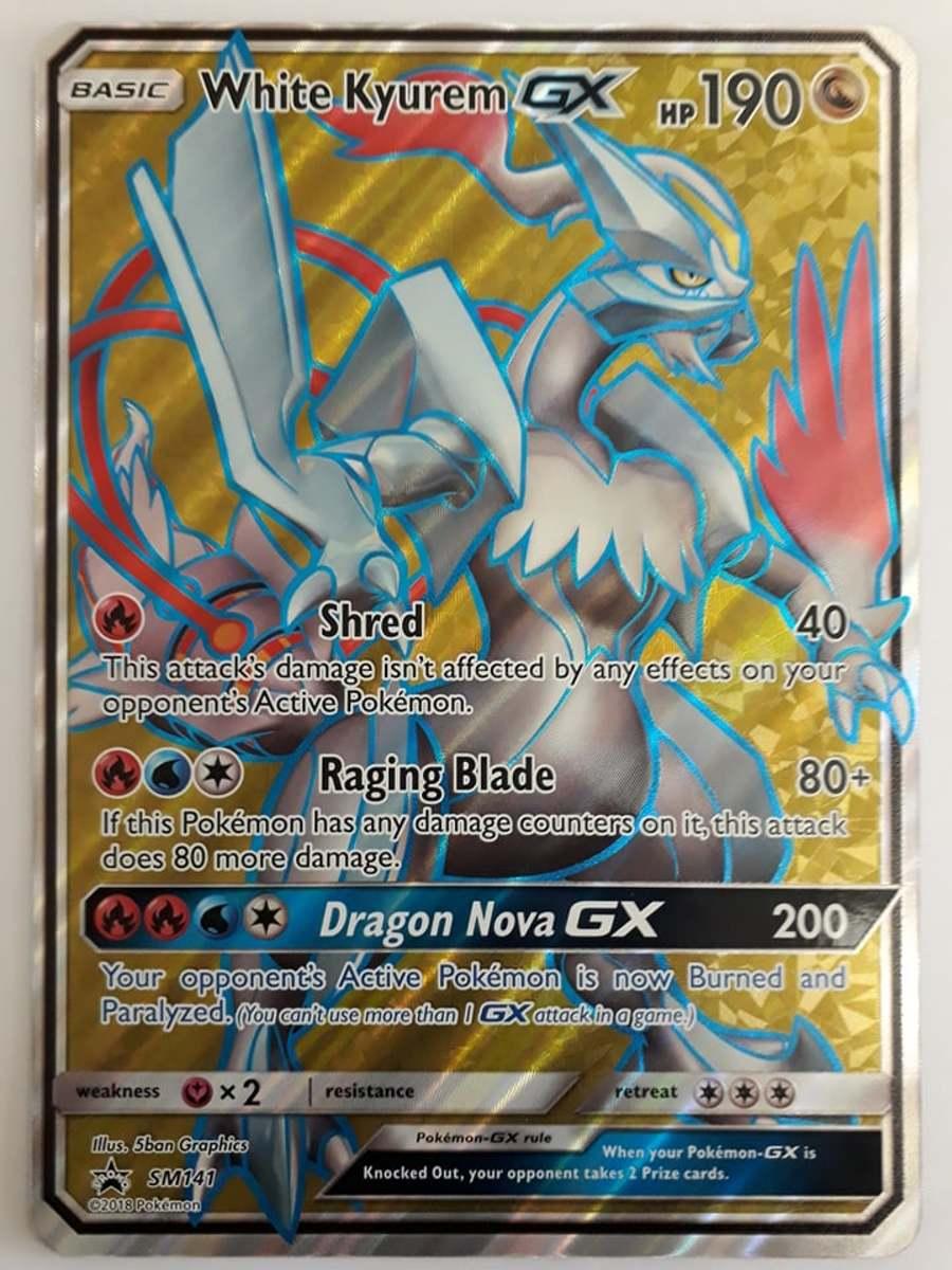 Pokemon White Kyurem GX Grote Kaart SM141 kopen