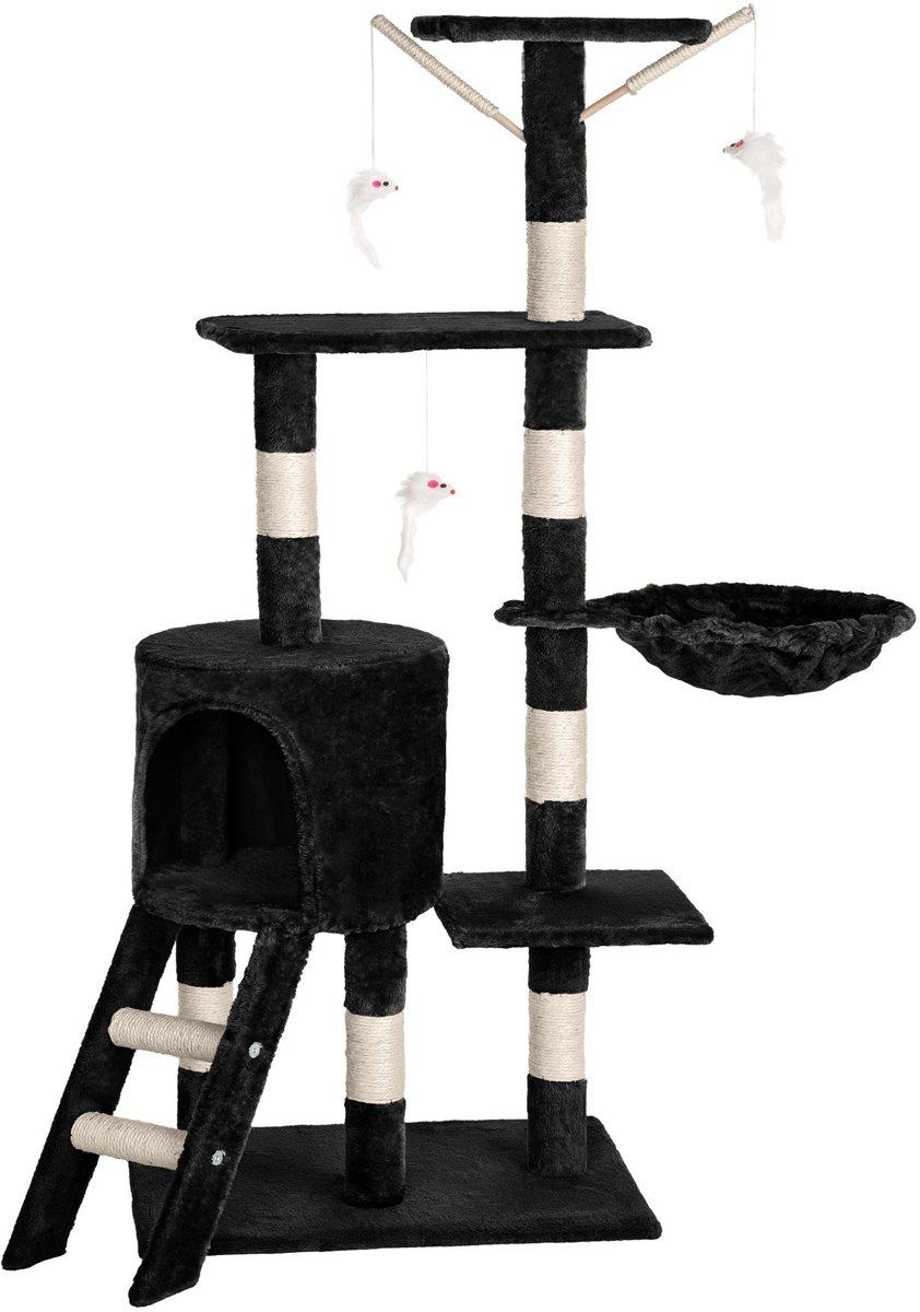 TecTake Dominik Krabpaal - Zwart - 144 cm