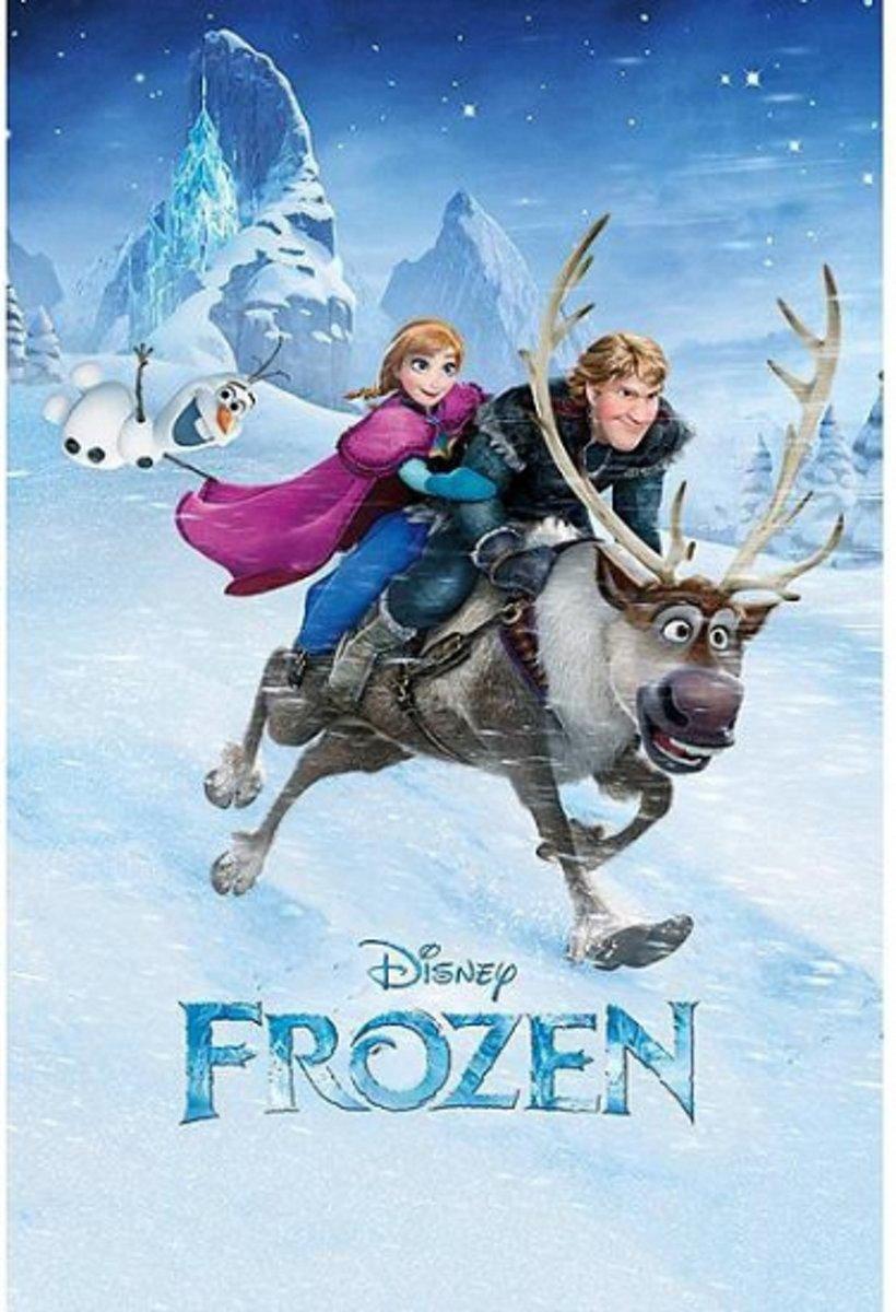 Poster Frozen ritje 61 x 91,5 cm - filmposter kopen