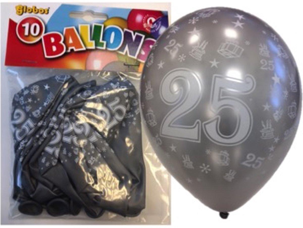 ballonnen 25 zilver kopen