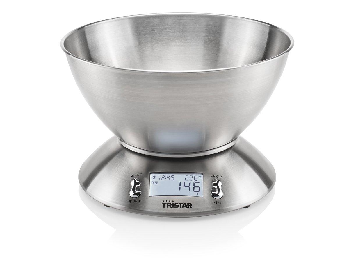 Tristar KW-2436 Keukenweegschaal – 5 kilogram – Roestvrij Staal
